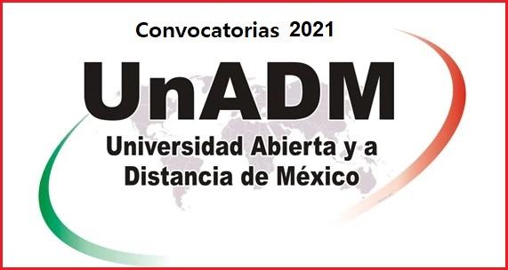 convocatoria unadm 2021