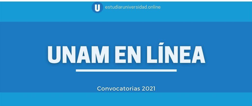 unam en linea convocatoria 2021